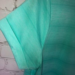 made for life Tops - Made For Life Mint Scrunch Side Top
